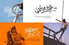Black Rockets - Dry Brush Font Product Image 7