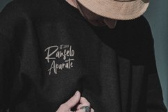 Handwritten Signature - Agustine Roland Font Product Image 5