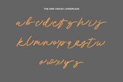 Holly Wings Calligraphic Font Product Image 7