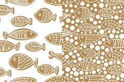 Gold and fish. Product Image 6