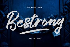 Bestrong - Brush Font Product Image 2