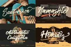 Awesome Mega Bundle 50 Fonts from Perspectype Studio Product Image 3