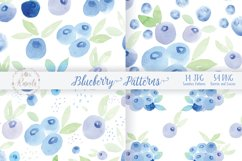 Watercolor Painting Blueberry Product Image 5
