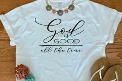 God is good all the time svg, God is good svg, God quote svg Product Image 2