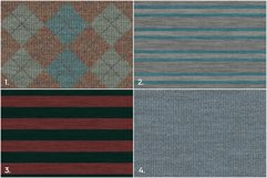 20 Knitted Weaving Background Textures Product Image 2