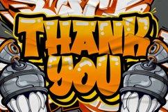 Bradwall Graffiti Font Product Image 6