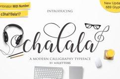 Chalala Script Product Image 1