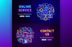 Contact Us Neon Product Image 6