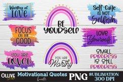 Motivational Quotes Sublimation Bundle, Motivational PNG Product Image 1