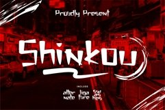 Shinkou - Japanese Style Font Product Image 1