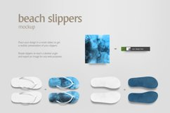 Beach Slippers Mockup Product Image 4