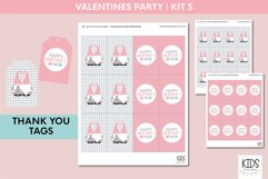 Valentine's Day party decorations. | Gnomes printable party Product Image 6