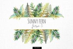 Sunny fern frame #3 Product Image 1