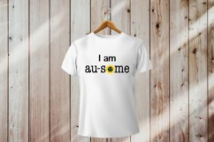 Autism Quotes. Autism Awareness SVG PNG. I am au some saying Product Image 2