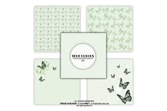 Mint Green Dreams Baby Paper Pack Fashion Illustration Product Image 4