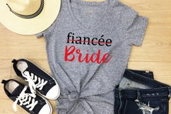 Girlfriend to Fiancee and Fiancee to Bride SVG, DXF, PNG Product Image 2