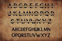 Original Split Font - A Monogram Font Product Image 2