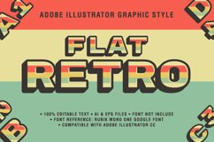 5 Retro Text Effect Graphic Styles Vector Product Image 5