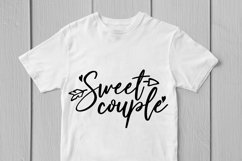 Sweet Couple - Love SVG EPS DXF PNG Cutting Files Product Image 2