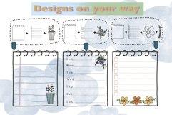 Procreate Brush Stamp Trendy Planner-Planner Procreate Brush Product Image 2