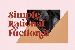 The Fieasto/Modern serif Font Product Image 2