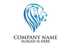 Lion logo design template ,Elegant lion head logo Product Image 2