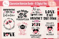 Quarantine Valentine / Pandemic Valentine Bundle SVG Files Product Image 1