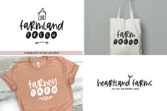Farmhouse Font Bundle - Handwritten Fonts for Crafters! Product Image 7