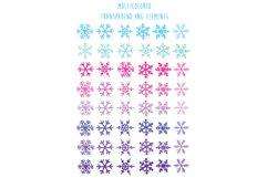 Christmas snowflakes Product Image 3