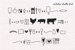 Country Kitchen - A Script Font with Farmhouse Doodles Product Image 4