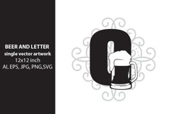 Beer, monogram letter O Product Image 1