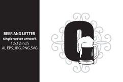 Beer, monogram letter O Product Image 1