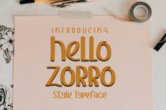 Hello Zorro Product Image 1