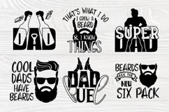 Fathers Day Svg, Beard Svg, Dad Signs, Beer Svg, Bbq Svg Product Image 3