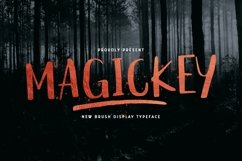 Web Font Magickey Product Image 1