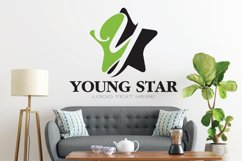 Y Letter Logo In Star Product Image 3