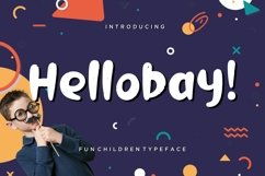 Hellobay Fun Children Typeface Product Image 1
