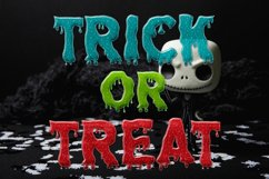 Dripping Zombie Halloween Font Product Image 3