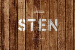 Stencil Headline Font Product Image 3