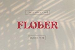Flober decorative serif Product Image 1
