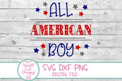 4th Of July, Patriotic SVG,USA Boy SVG, Stars And Stripes Product Image 3