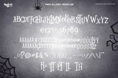 Twig Alleric - Halloween Twig Font Product Image 5
