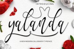 Yalanda Script Product Image 1