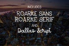 Dallas Roarke Font Duo Product Image 2