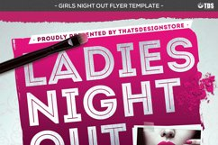 Girls Night Out Flyer Template Product Image 4