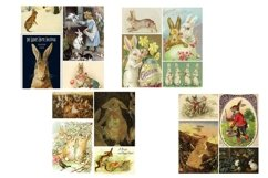 Easter Bunny and Rabbit Vintage Illustrations 2 PDF Product Image 4