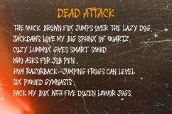 DEAD ATTACK Product Image 4