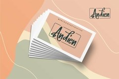Web Font Hallish - A Handwritten Font Product Image 2
