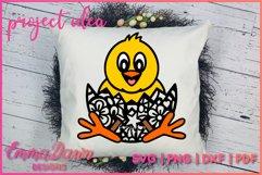 CHEEP THE CHICK SVG 2 MANDALA ZENTANGLE DESIGNS Product Image 5