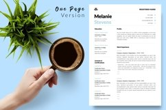 Nurse Resume CV Template for Word & Pages Melanie Stevens Product Image 2